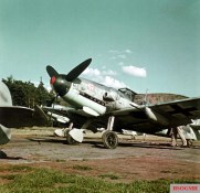 In May 1943, I.Gruppe / Jagdgeschwader 3 (JG 3) began receiving the first new Messerschmitt Bf 109 G-6 fighters to replace its existing equipment, Bf 109 G-2s and G-4s. Conversion to the new type took the entire summer of 1943.