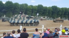 Tiger 233 with a Hetzer and Panzer II Lynx in the background.