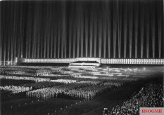 """""""Lichtdom"""" (Cathedral of Light), Party Congress 1936."""