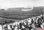 Muster of the Labour Service (RAD), Zeppelin Field, Party Congress 1937.