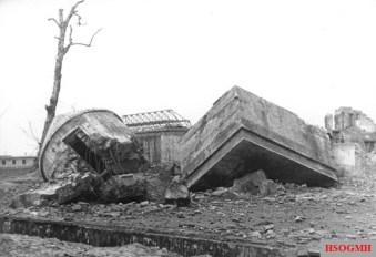 The destroyed Führerbunker, 1947.