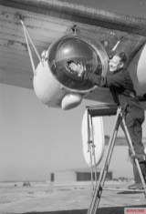 Leigh Light fitted to a Royal Air Force Coastal Command Liberator, February 26, 1944.