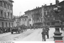 Marching thru Warsaw.