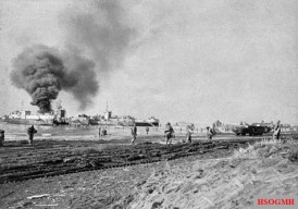 Men of the U.S. 3rd Infantry Division landing in late January 1944.