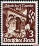 In the Third Reich published commemorative postage stamp of the Reichspost of 1935.
