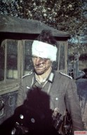 This image of a wounded RAD (Reichsarbeitsdienst) Feldmeister on the Russian front taken on 6 September 1941.