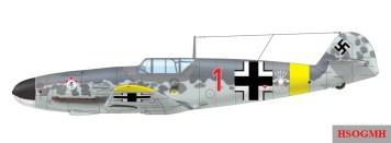 Messerschmitt Bf 109F-2 of the Escuadrilla Azul, 15.(span.)/Jagdgeschwader 51, Winter 1942/1943.