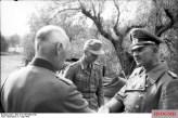 Hans-Jürgen von Arnim (right) Commander-in-Chief of Army Group Africa.