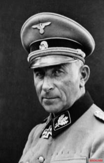 Paul Hausser, commanding officer of the II SS-Panzer Corps.