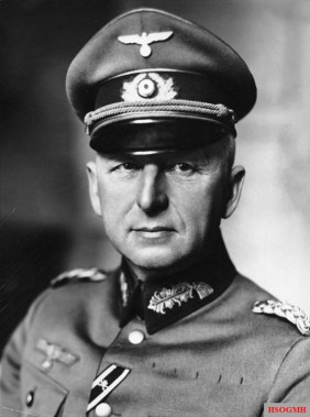 Field Marshal Erich von Manstein, commander of Army Group South at the time of the battle.