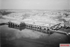U-boat pens at Brest.