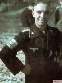 Major der Reserve (last rank Generalmajor) Dr. med. dent. Franz Bäke (28 February 1898 - 12 December 1978), Kommandeur II.Abteilung / Panzer-Regiment 11 / 6.Panzer-Division.
