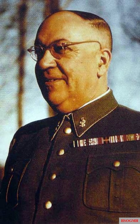 Dr. Theodor Morell in his Leibarzt uniform.
