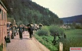 Picture taken late in May 1945 in Czechoslovakia, possibly a German retreat