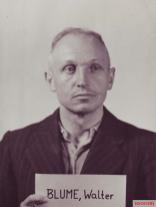 SS-Standartenführer Dr. Walter Blume.