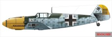 Galland's Messerschmitt Bf 109 E.