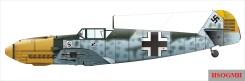 Galland's Messerschmitt Bf 109 E.