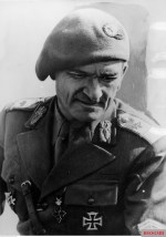 Romanian general Ioan Dumitrache (25 August 1889 - 6 March 1977) received the German Ritterkreuz des Eisernen Kreuzes (Knight's Cross of the Iron Crosses) in 2 November 1942 after commanded the Romanian 2nd Mountain Division, which captured the Soviet town of Nalchik in the Caucasus, the farthest, or most southern, Axis advance on the Eastern Front. He also received a promotion to the rank of General de divizie or Major General shortly afterwards.