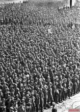German prisoners of war in Moscow, 15 July 1944.