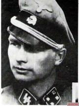 """SS-Sturmbannführer Josef """"Jupp"""" Diefenthal."""