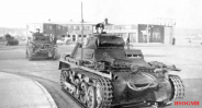 German Pz.Kpfw. I tanks in Aabenraa, Denmark, 9 April 1940.