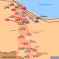 Second Battle of El Alamein. Situation on 28 October 1942.
