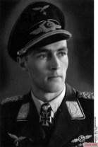 Nordmann as a Luftwaffe officer in 1943.