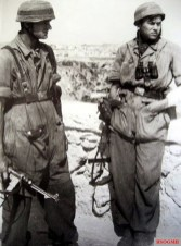 German Paratroopers in Crete.