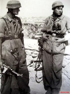 German Paratroopers in Crete.
