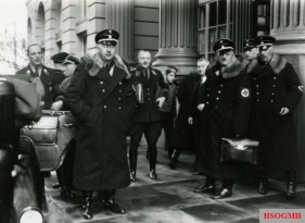 Reichsführer-SS Heinrich Himmler and Chief of the German Police at the Reich Ministry of the Interior.