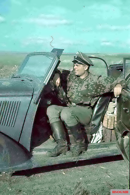 Franz Roth in the Summer 1941, Russia.