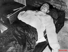 Göring's corpse.