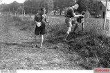 Two members of the HJ laying field telephone cables, 1933.
