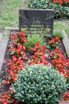Georg von Boeselager's grave.