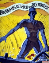 Brothers, report to the Reichswehr poster.