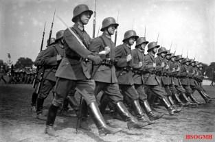 Parade of the Reichswehr.