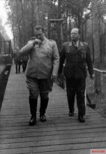 Göring with Field Marshal Erhard Milch, 1940.