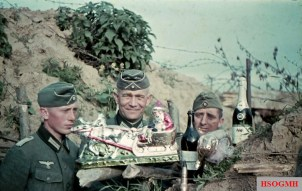 Christmas for the German soldiers of the 71st Infantry Division