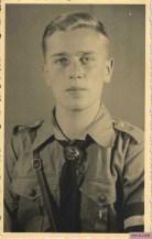 Hitlerjunge portrait.