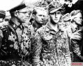 Prisoners of war from the 2nd SS Panzer Division 'Das Reich'.