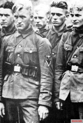 Young SS soldiers.