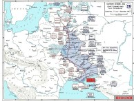 Operations along the Dnieper, July to December 1943.