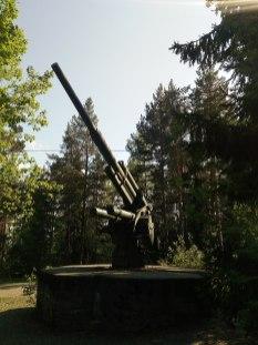 8.8cm Flak 37 in Tampere, Finland.