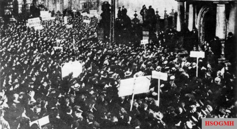 German Revolution, Kiel, 1918.