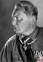 Pour le Mérite winner Hermann Goering the last Prime Minister of Prussia and Reich Minister of Aviation and Supreme Commander of the Luftwaffe.