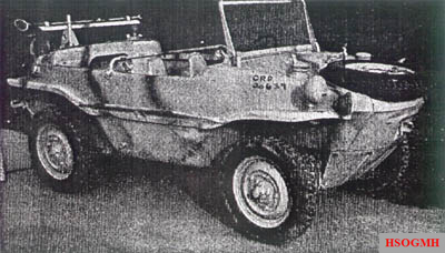 Schwimmwagen from the December 1944 issue of the Intelligence Bulletin.