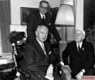 Walther Wenck, Theodor Busse, and Erich von Manstein in the post-war period