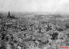 Cologne in 1945.