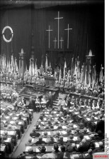 Commemoration ceremony in the Reichstag, March 1928.