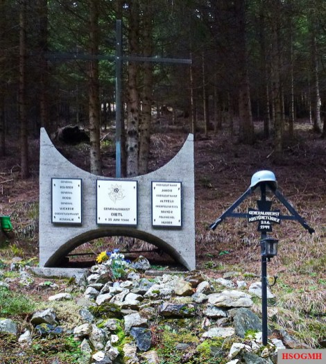 General Eduard Dietl Airplane Crash Site Memorial.